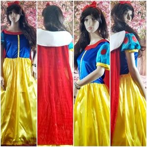 Snow White Classic Stage Cosplay Dress